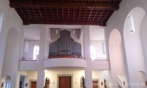 Neuenburg am Rhein Liebfrauenkirche Orgelprospekt I
