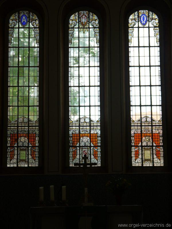 Nuthe Urstromtal Woltersdorf Kirchenfenster I