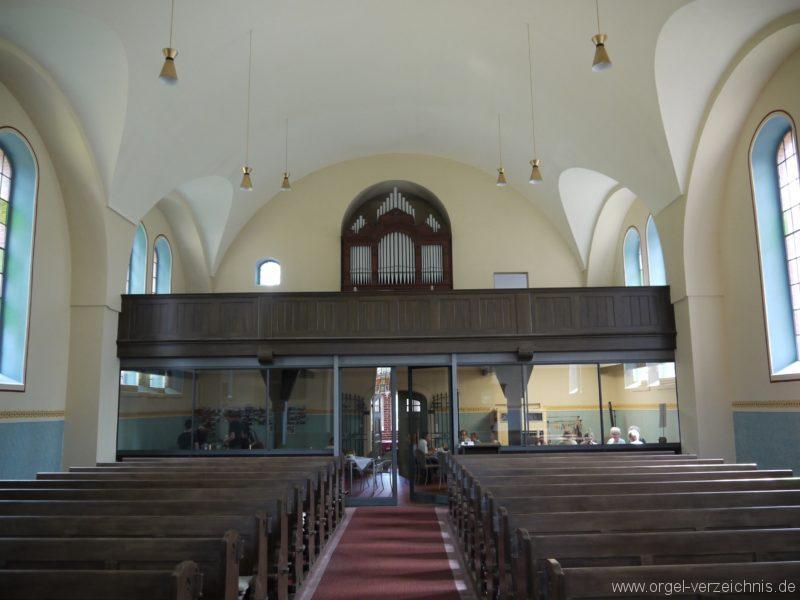 Nuthe Urstromtal Woltersdorf Orgelprospekt I