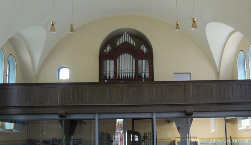 Nuthe Urstromtal Woltersdorf Orgelprospekt II