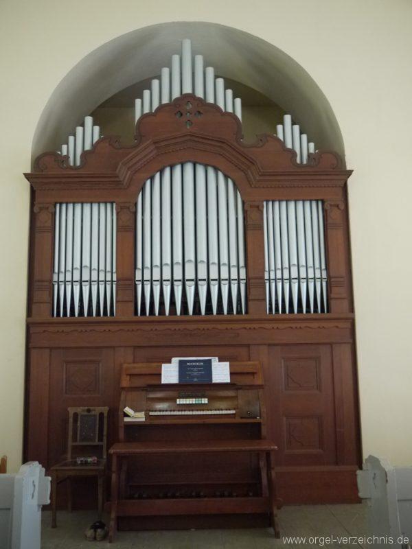 Nuthe Urstromtal Woltersdorf Orgelprospekt III