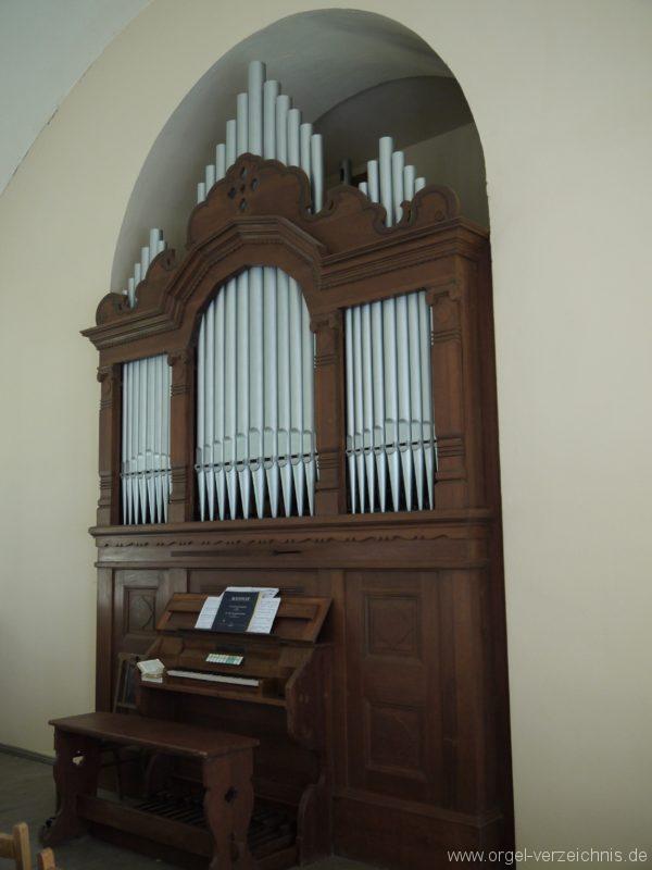 Nuthe Urstromtal Woltersdorf Orgelprospekt IV