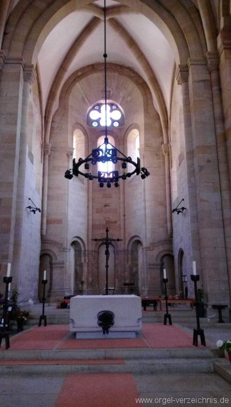 Otterberg ehem Abteikirche Altaransicht I