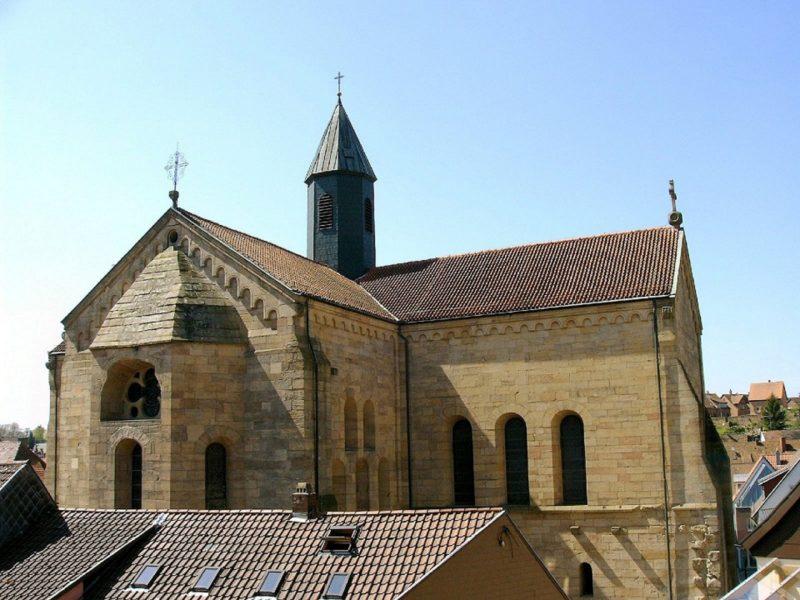 Otterberg ehem Abteikirche Aussenansicht I