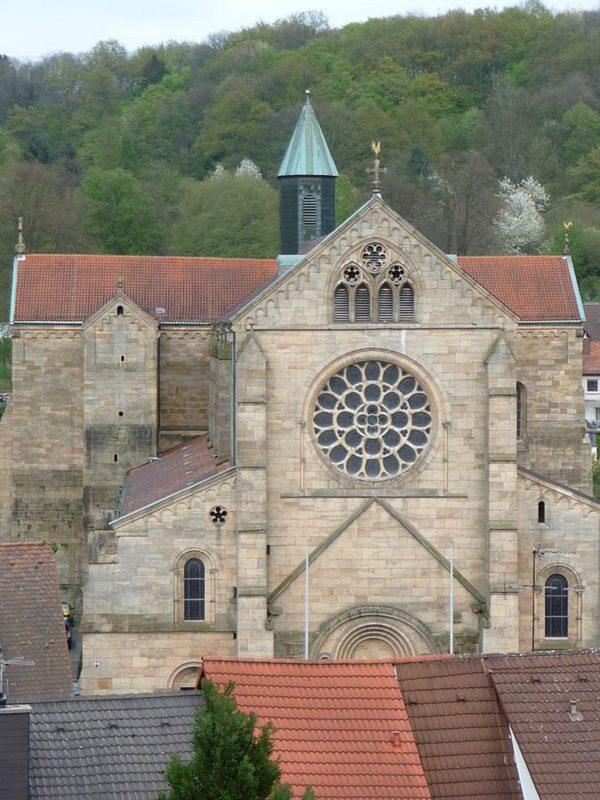 Otterberg ehem Abteikirche Aussenansicht II