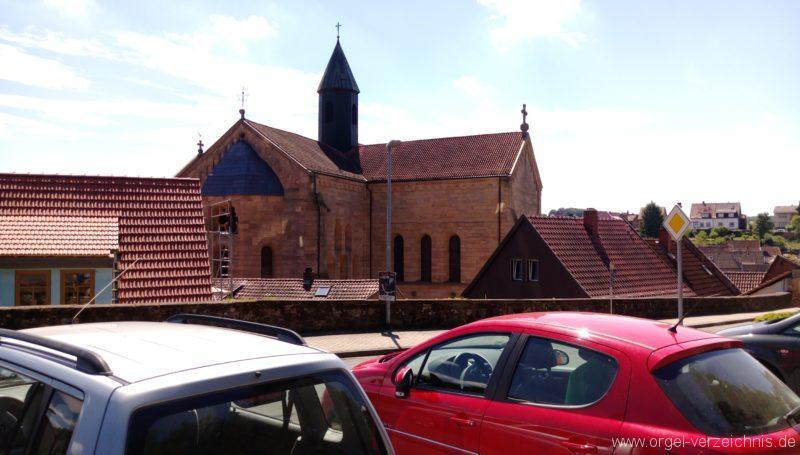 Otterberg ehem Abteikirche Aussenansicht III