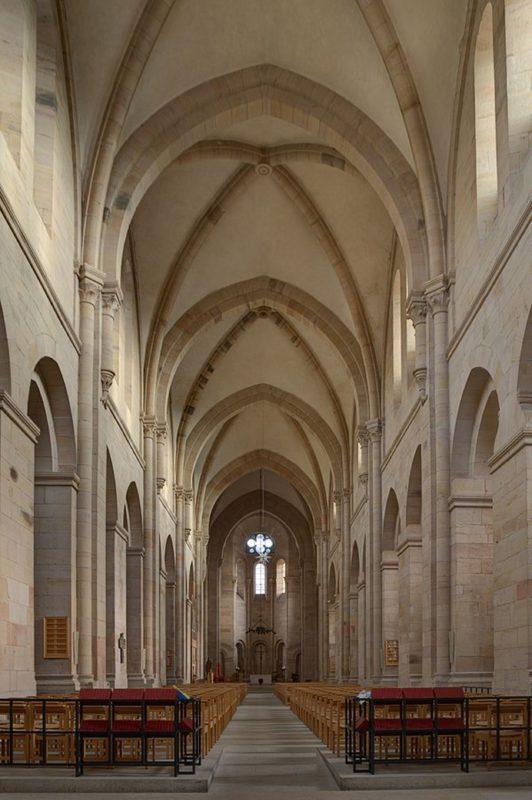 Otterberg ehem Abteikirche Innenansicht I
