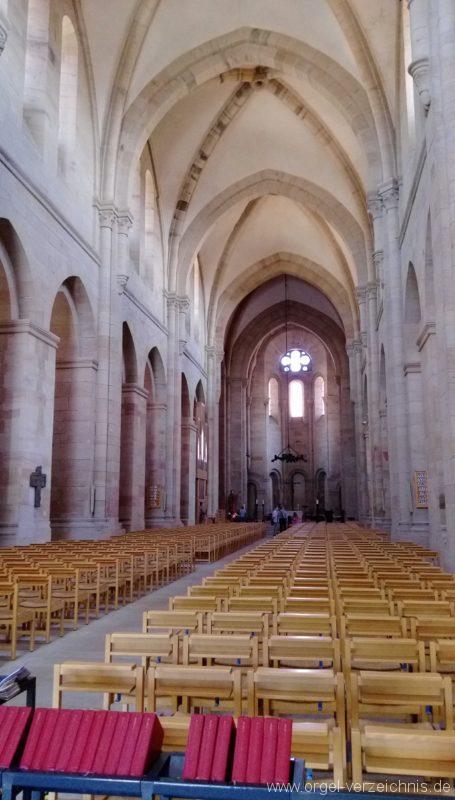 Otterberg ehem Abteikirche Innenansicht III