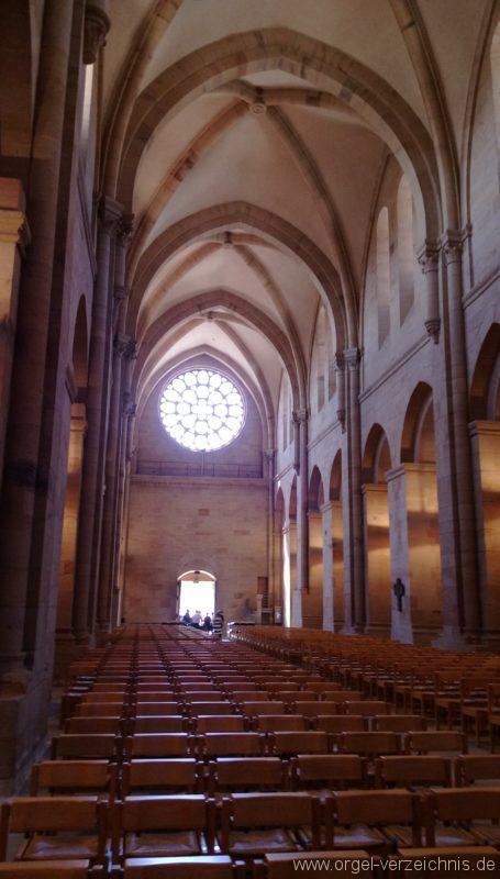 Otterberg ehem Abteikirche Innenansicht V