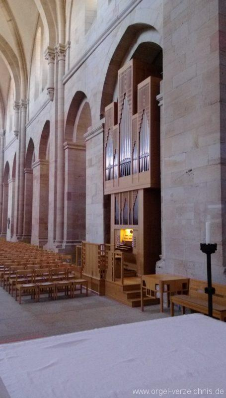 Otterberg ehem Abteikirche Orgelprospekt I