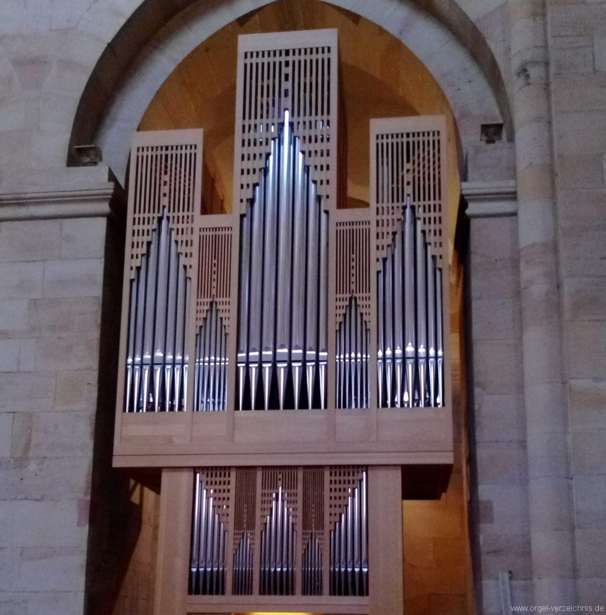 Otterberg ehem Abteikirche Orgelprospekt II
