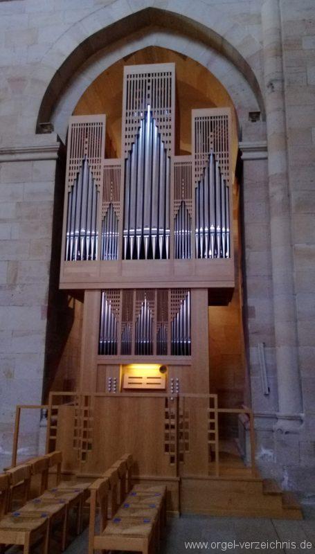 Otterberg ehem Abteikirche Orgelprospekt III