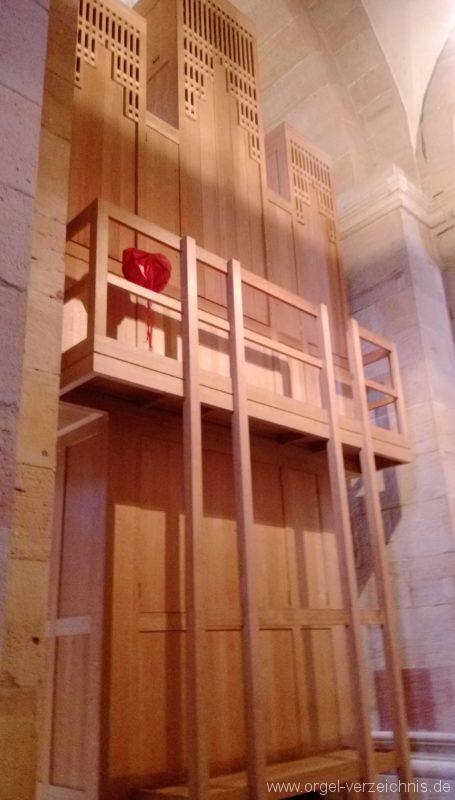 Otterberg ehem Abteikirche Orgelprospekt IV