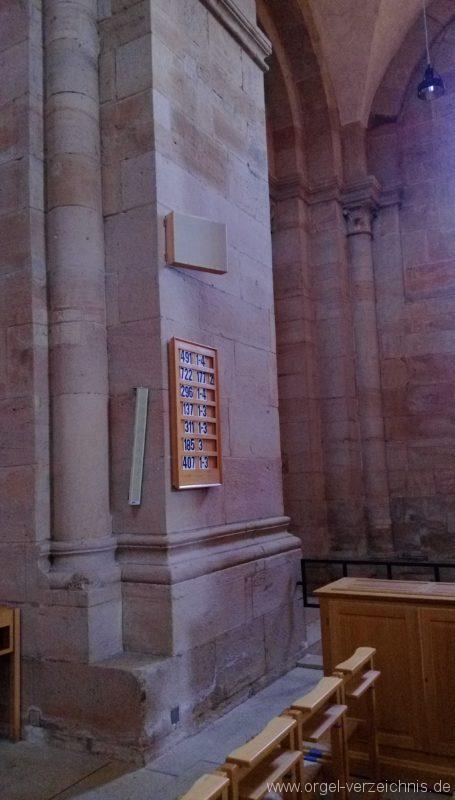 Otterberg ehem Abteikirche Truhenorgel II