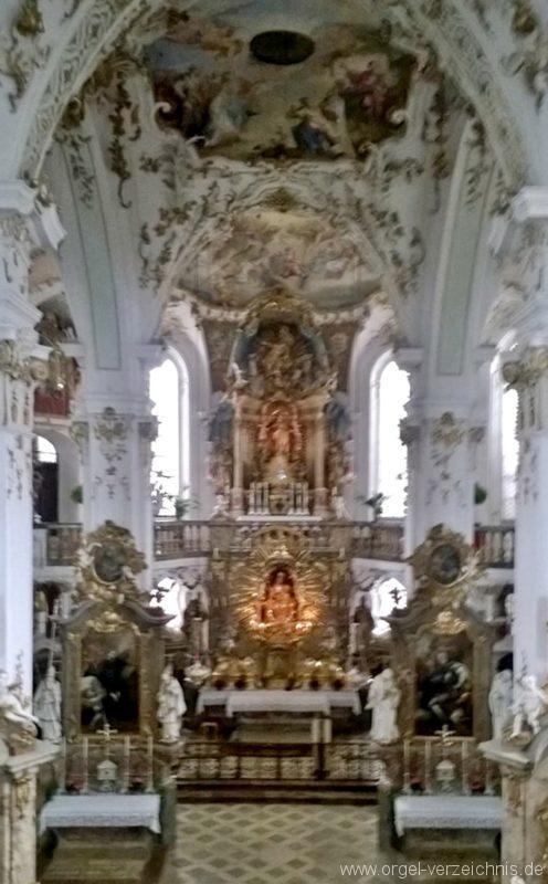 Andechs Wallfahrtskirche St. Nikolaus und Elisabeth Chorraum I