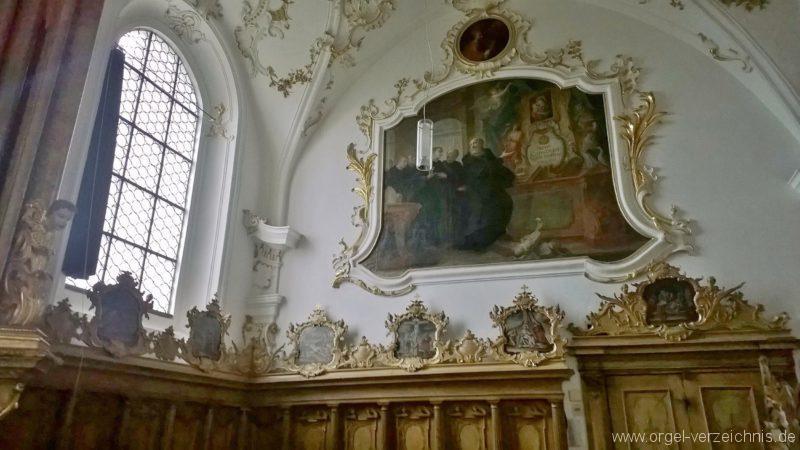 Andechs Wallfahrtskirche St. Nikolaus und Elisabeth Innenansicht I