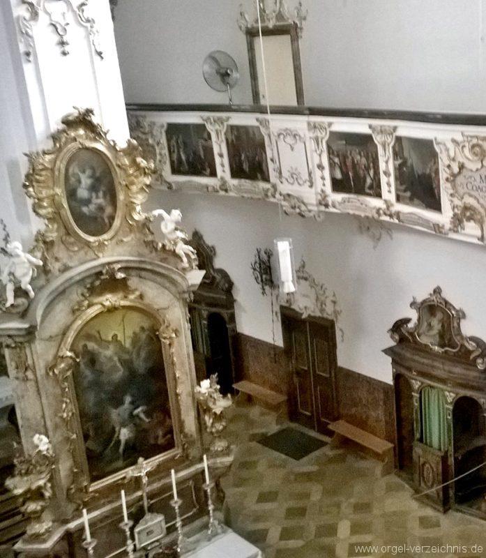 Andechs Wallfahrtskirche St. Nikolaus und Elisabeth Innenansicht II