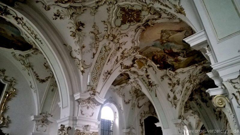 Andechs Wallfahrtskirche St. Nikolaus und Elisabeth Innenansicht IV