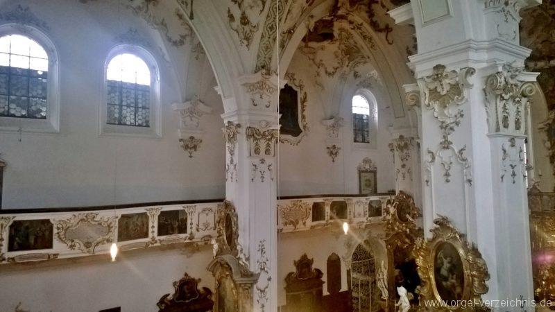Andechs Wallfahrtskirche St. Nikolaus und Elisabeth Innenansicht V