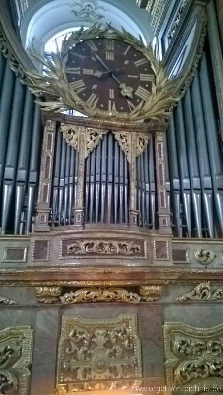 Andechs Wallfahrtskirche St. Nikolaus und Elisabeth Orgelprospekt Detail I