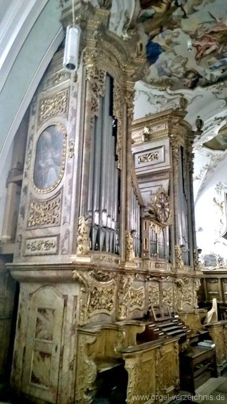 Andechs Wallfahrtskirche St. Nikolaus und Elisabeth Orgelprospekt II