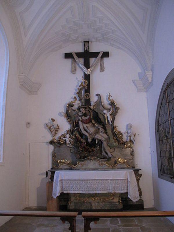Andechs Wallfahrtskirche St. Nikolaus und Elisabeth Schmerzhafte Kapelle