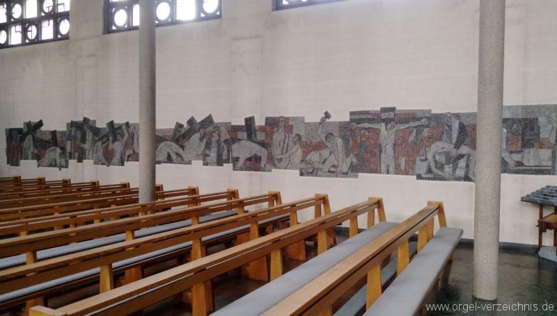 Gundelfingen Bruder Klaus Kirche Kreuzweg I