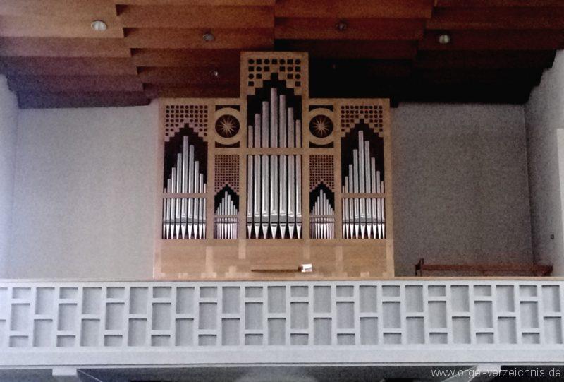 Gundelfingen Bruder Klaus Kirche Prospekt II