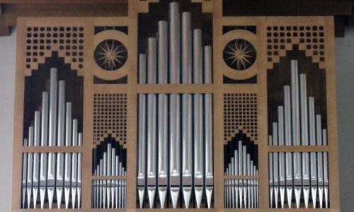 Orgel der katholischen Kirche Bruder Klaus  in Gundelfingen