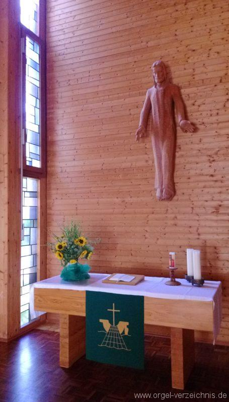 Münstertal Friedenskirche Altaransicht I