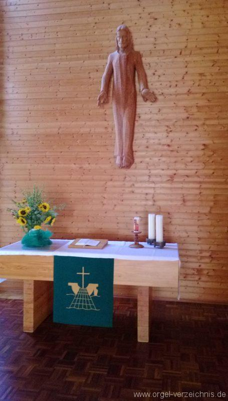 Münstertal Friedenskirche Altaransicht II