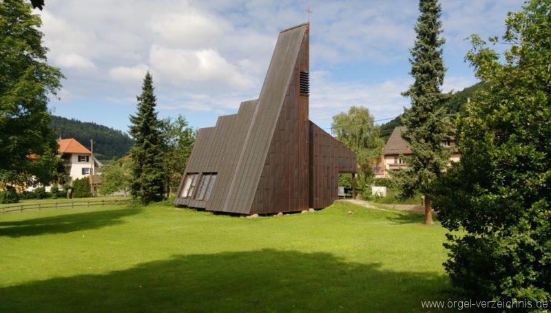Münstertal Friedenskirche Aussenansicht I