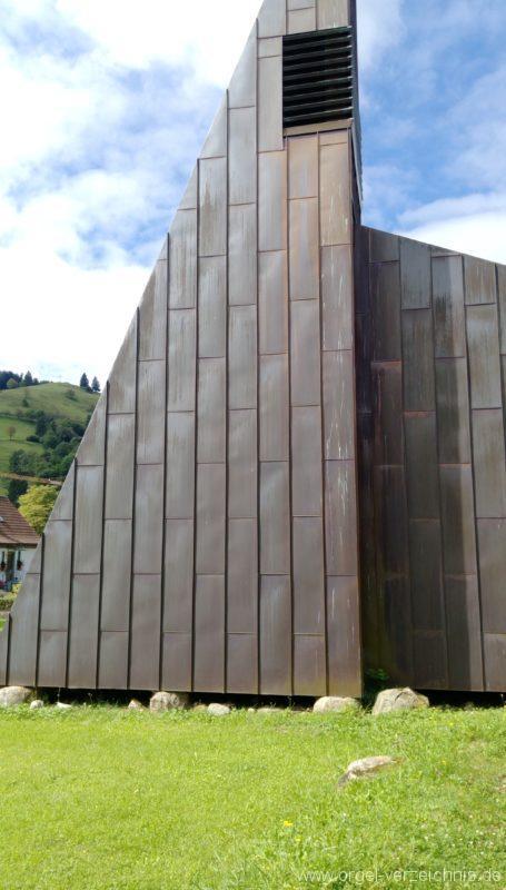 Münstertal Friedenskirche Aussenansicht III