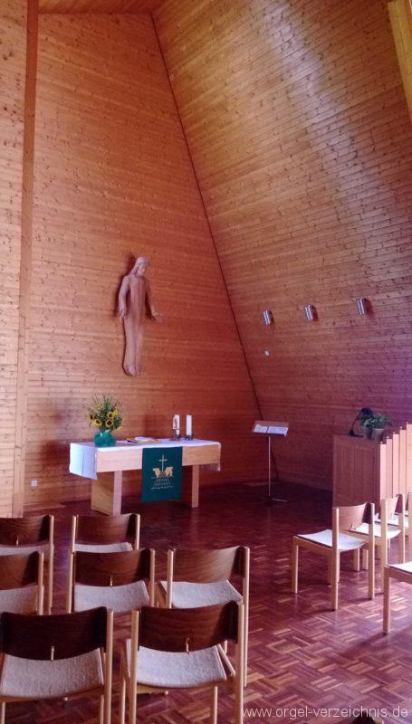 Münstertal Friedenskirche Innenansicht I