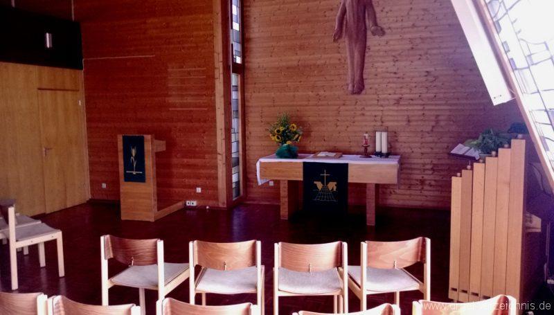 Münstertal Friedenskirche Innenansicht II