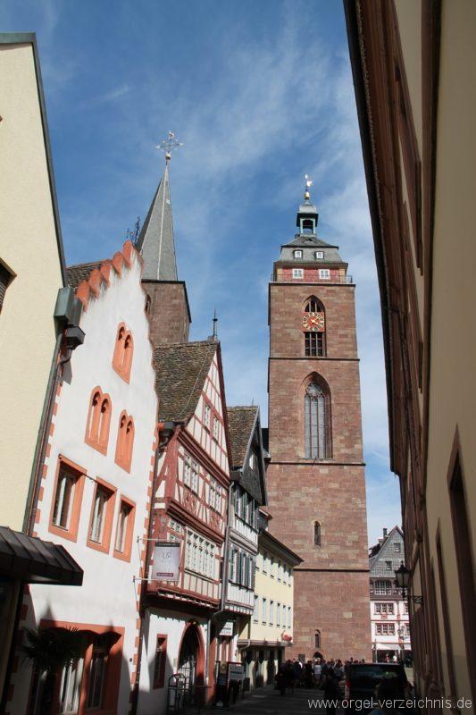 Neustadt an der Weinstrasse Stiftskirche Aussenansicht I