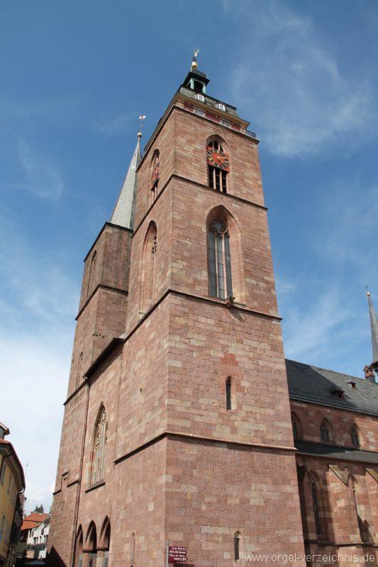 Neustadt an der Weinstrasse Stiftskirche Aussenansicht III