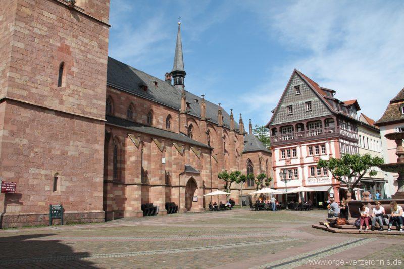 Neustadt an der Weinstrasse Stiftskirche Aussenansicht IV