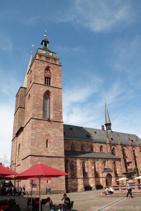 Neustadt an der Weinstrasse Stiftskirche Aussenansicht V