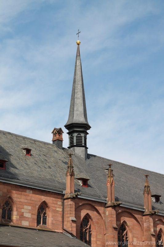 Neustadt an der Weinstrasse Stiftskirche Aussenansicht VI