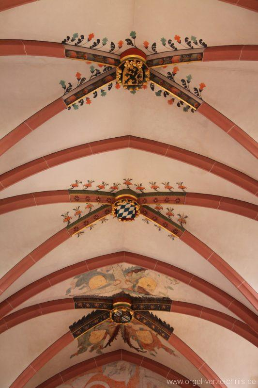 Neustadt an der Weinstrasse Stiftskirche Decke I