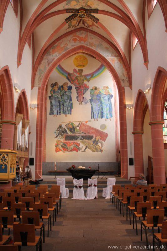 Neustadt an der Weinstrasse Stiftskirche Innenansicht I