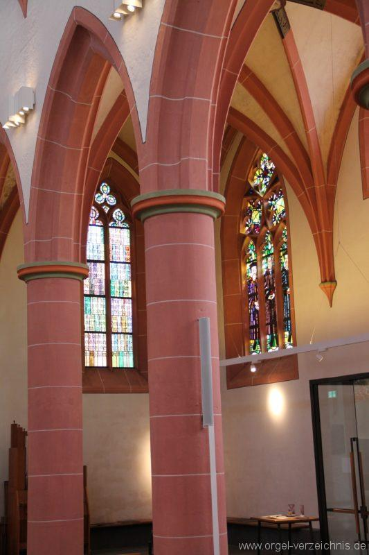 Neustadt an der Weinstrasse Stiftskirche Innenansicht II