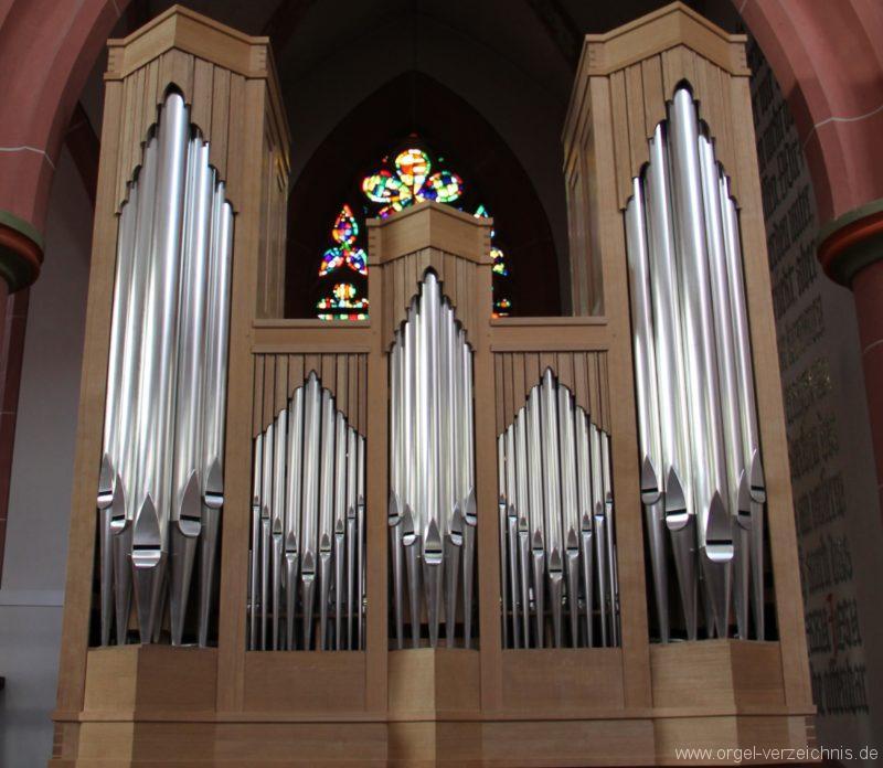Neustadt an der Weinstrasse Stiftskirche Prospekt Altarorgel I