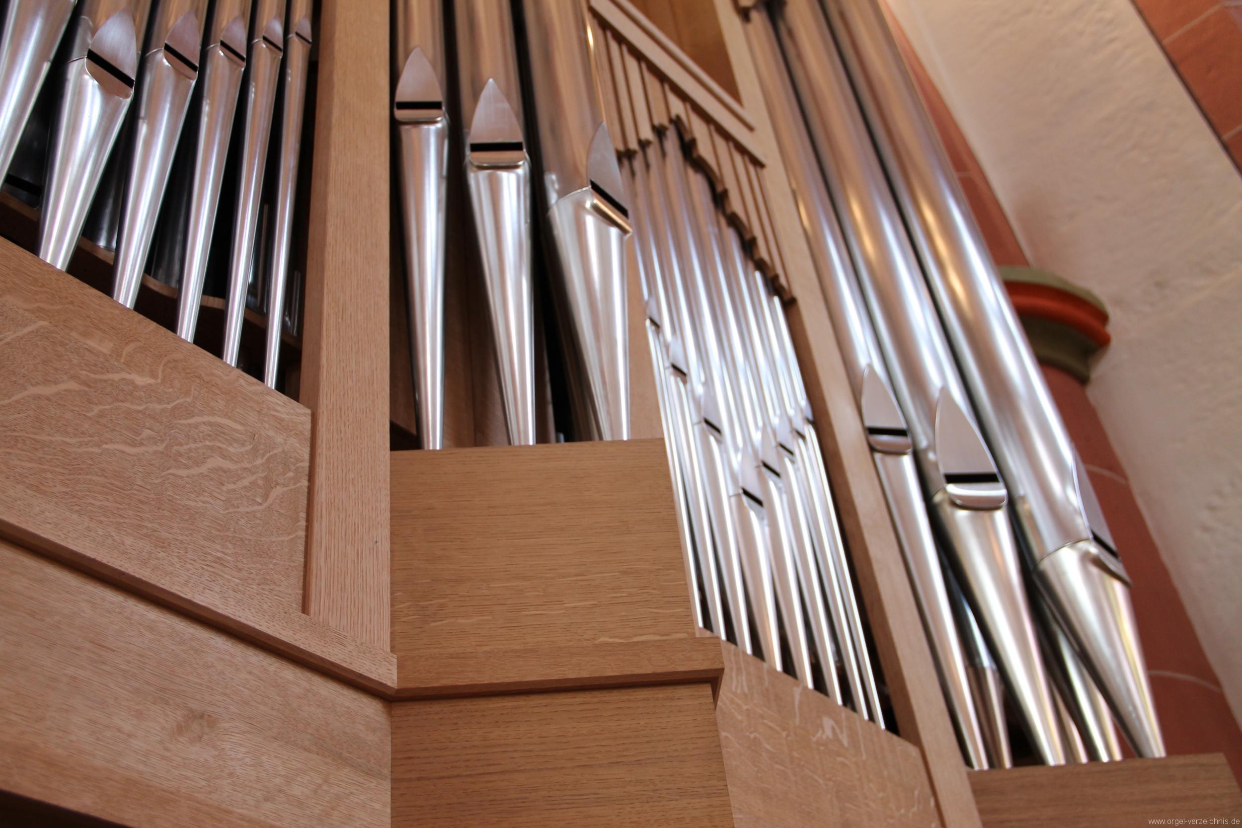 Neustadt an der Weinstrasse Stiftskirche Prospekt Altarorgel II