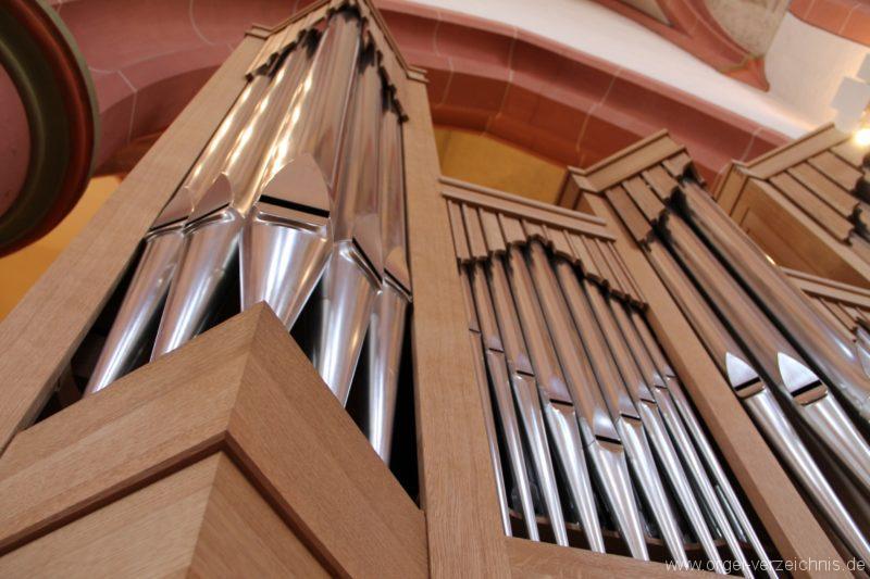 Neustadt an der Weinstrasse Stiftskirche Prospekt Altarorgel III