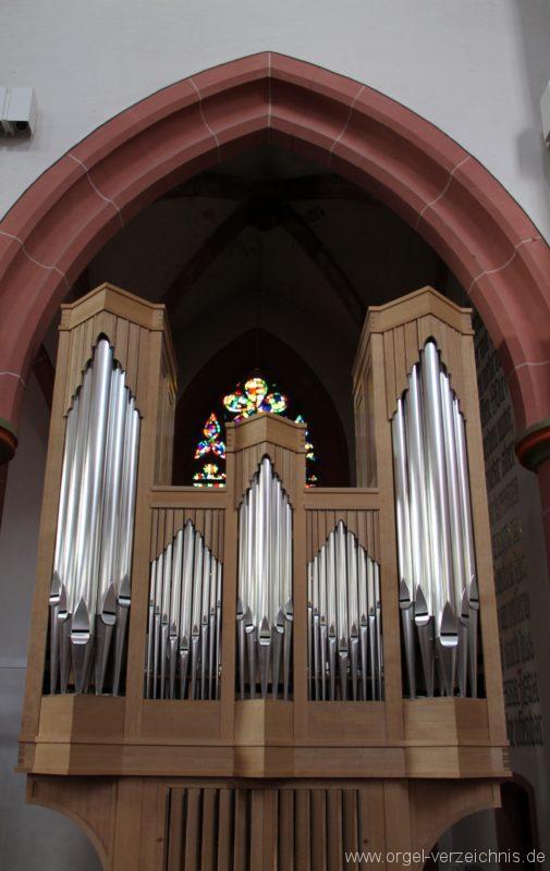 Neustadt an der Weinstrasse Stiftskirche Prospekt Altarorgel VI