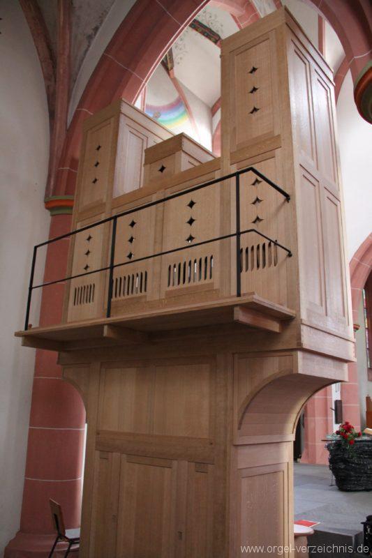 Neustadt an der Weinstrasse Stiftskirche Prospekt Altarorgel VII