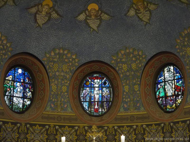 Zeuthen Martin Luther Kirche Altarfenster I