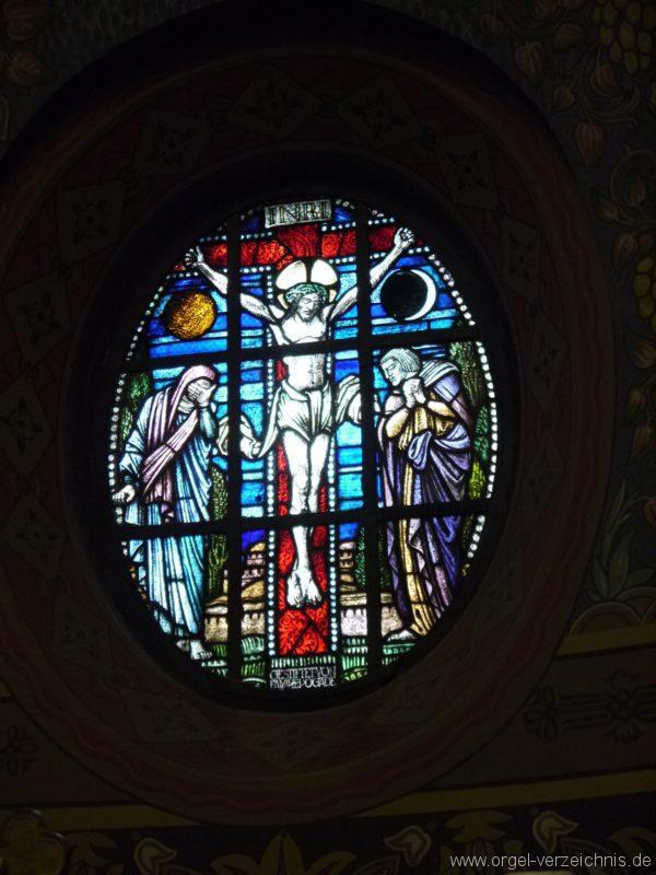 Zeuthen Martin Luther Kirche Altarfenster III